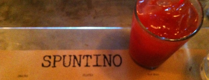 Spuntino is one of foursquare London recommends.