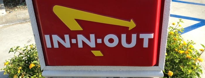 In-N-Out Burger is one of food places and things.