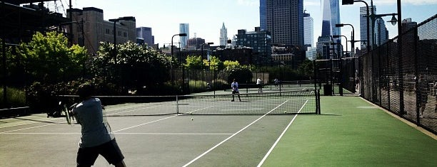 West Side Tennis Courts is one of Sweat!.