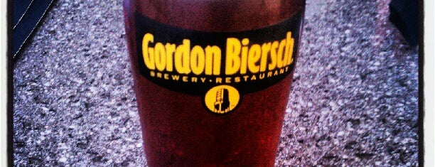 Gordon Biersch is one of Favorite Places.