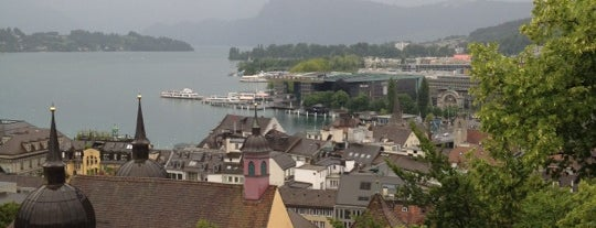 Schirmerturm is one of Discover Lucerne.