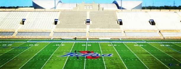 H. A. Chapman Stadium is one of Conference USA Football Stadiums.