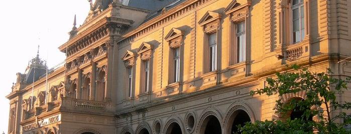 Estación Central General Artigas is one of Montevideo City Badge - Mateína.