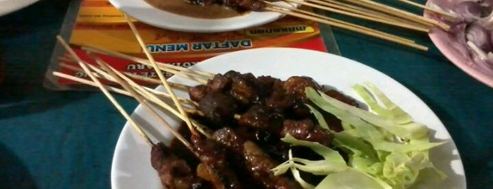 Sate Cak Amat is one of Must-visit Food in Yogyakarta.