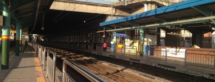신이문역 (Sinimun Station) is one of Subway Stations in Seoul(line1~4 & DX).