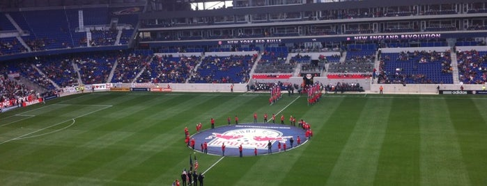 Red Bull Arena is one of Badges | Partners type.