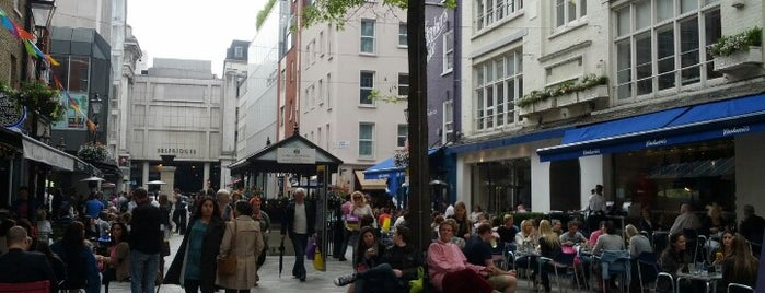 St Christopher's Place is one of Must-visit Great Outdoors in London.