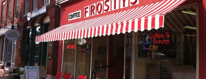 Frosty's Donuts & Coffee Shop is one of Gotta Try Donuts!.