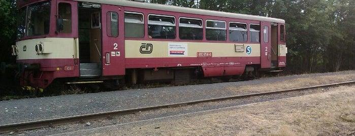 Železniční stanice Třemošnice is one of Železniční stanice ČR: Š-U (12/14).