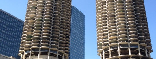 Marina City is one of Two days in Chicago, IL.