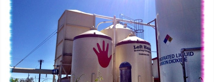 Left Hand Brewing Company is one of Breweries.