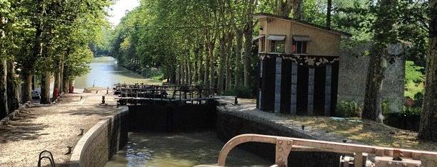 Écluse quadruple de Saint-Roch is one of Canal du Midi.