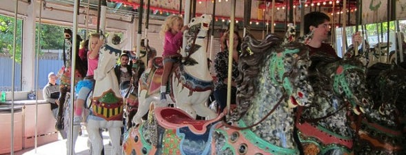 Flushing Meadows Carousel is one of A Guide To NYC's Carousels.