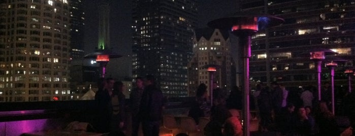 Rooftop Bar at The Standard is one of Best Rooftop Bars in Los Angeles.