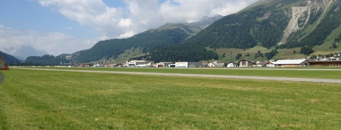 Engadin Airport is one of Airports visited.