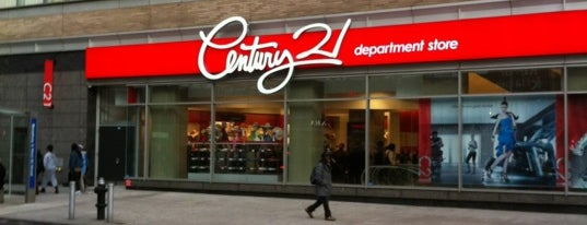 Century 21 Department Store is one of NY.