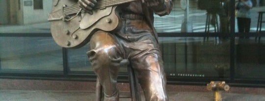 Chet Atkins Statue is one of 11 Cool Places in Nashville You Really Must Visit.