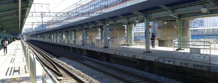 구일역 (Guil Stn.) is one of Subway Stations in Seoul(line1~4 & DX).