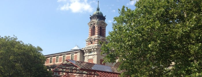 Ellis Island is one of Places to take NYC Visitors!.