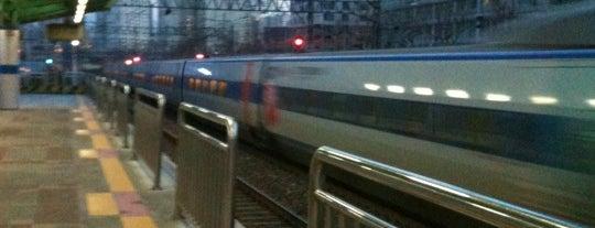 남영역 (Namyeong Stn.) is one of Subway Stations in Seoul(line1~4 & DX).