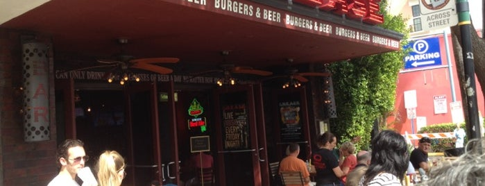 Grease Burger, Beer and Whiskey Bar is one of West Palm Beach Best Spots #visitUS.