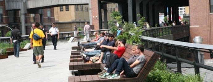High Line is one of New York City's Must-See Attractions.