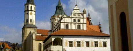 Levoča is one of UNESCO Slovakia - kultúrne/prírodné pamiatky.