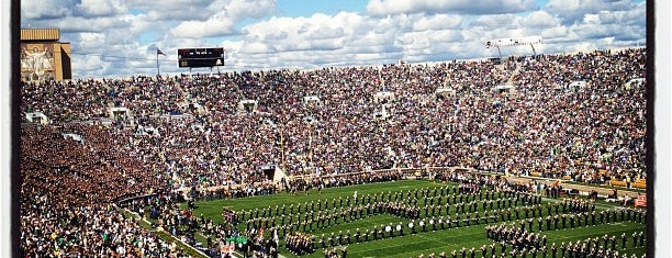 Notre Dame Stadium is one of NCAA Football Time!.