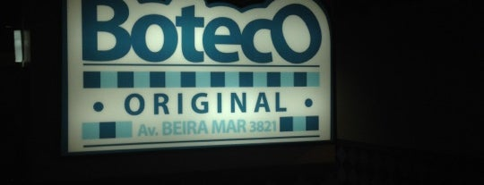 Boteco Original Beira Mar is one of Wi-fi grátis.
