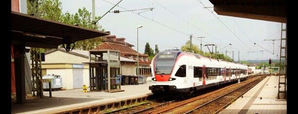Bahnhof Singen (Hohentwiel) is one of Ausgewählte Bahnhöfe.