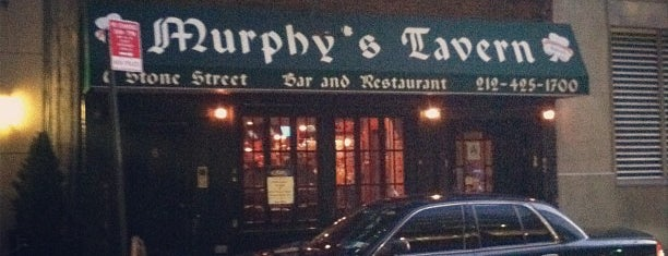 Murphy's Tavern is one of FiDi Bars/Restaurants.