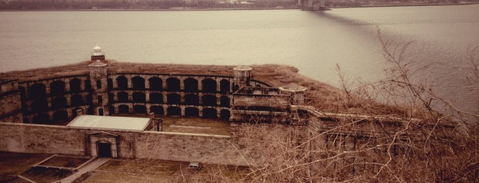 Fort Wadsworth is one of NYC's Historic War Sites.
