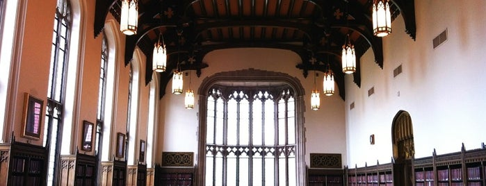 Bizzell Memorial Library is one of Survive Midterms!.