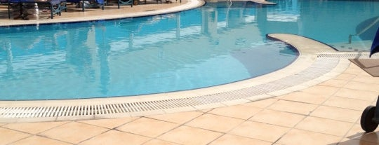 Rooftop pool @ Four points By sheraton is one of Best places in Dubai, United Arab Emirates.