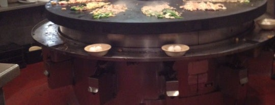 bd's Mongolian Grill is one of good food places in Canton.