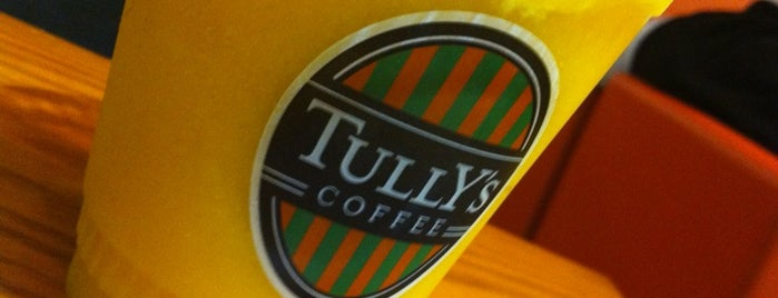 TULLY'S COFFEE 東急あざみ野駅店 is one of 東急沿線 Cafe・カフェ・喫茶店.