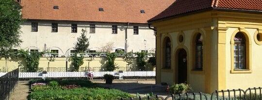 Františkánská zahrada is one of OUT DOOR-Areas.