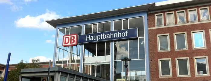 Münster (Westf) Hauptbahnhof is one of Ausgewählte Bahnhöfe.