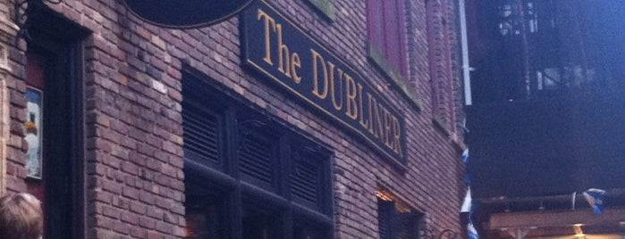 The Dubliner is one of FiDi Bars/Restaurants.