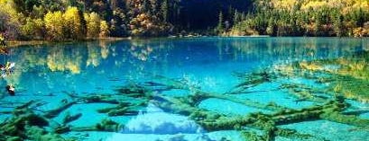 Jiuzhaigou Natural Park is one of Dream Destinations.
