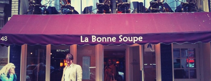 La Bonne Soupe is one of My favorite eats in NYC.