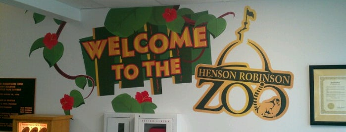 Henson Robinson Zoo is one of Springfield, Springfield!!.