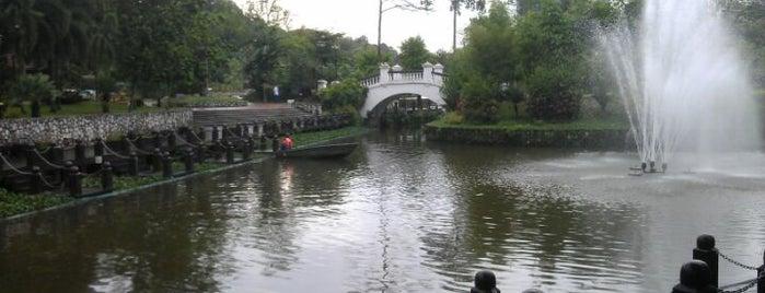 Lake Gardens (Taman Tasik Perdana) is one of Cool KL.