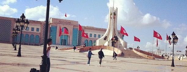 Place du Gouvernement à la Kasbah - ساحة الحكومة بالقصبة is one of Tunis City Badge - Bab el Bahr.