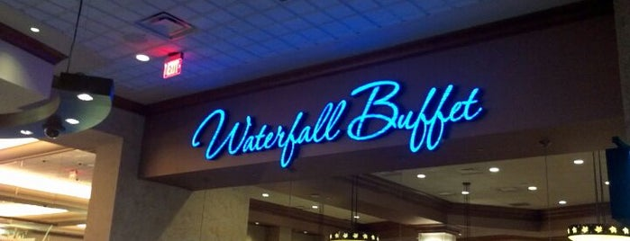 Waterfall Buffet is one of Favorite Food.