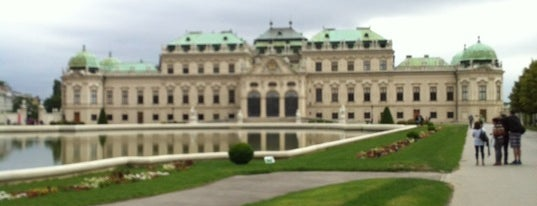 Belvedere is one of StorefrontSticker #4sqCities: Vienna.