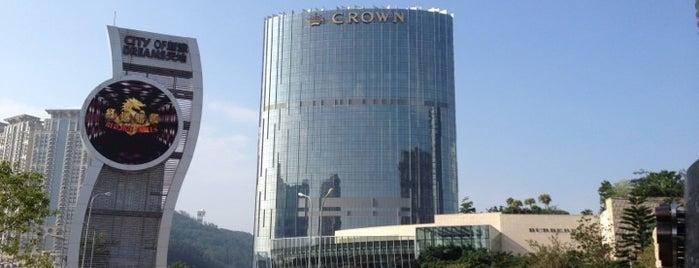 City of Dreams Macau 新濠天地 is one of CASINOS.