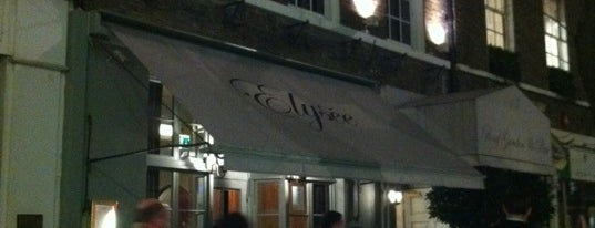 The Elysee Restaurant and Roof Garden is one of #OURLDN - W1.