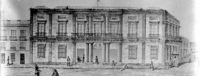 Cabildo is one of Montevideo City Badge - Mateína.