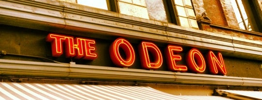 The Odeon is one of Eating New York City.
